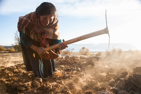 Foto; Annie Griffiths para Heifer International,cortesía de Ripple Effect Images
